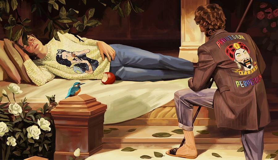 """文化艺术:GUCCI 发布 2018 春夏宣传大片,这次带你步入一个""""乌托邦幻境""""-BlueDotCC, 蓝点文化创意"""