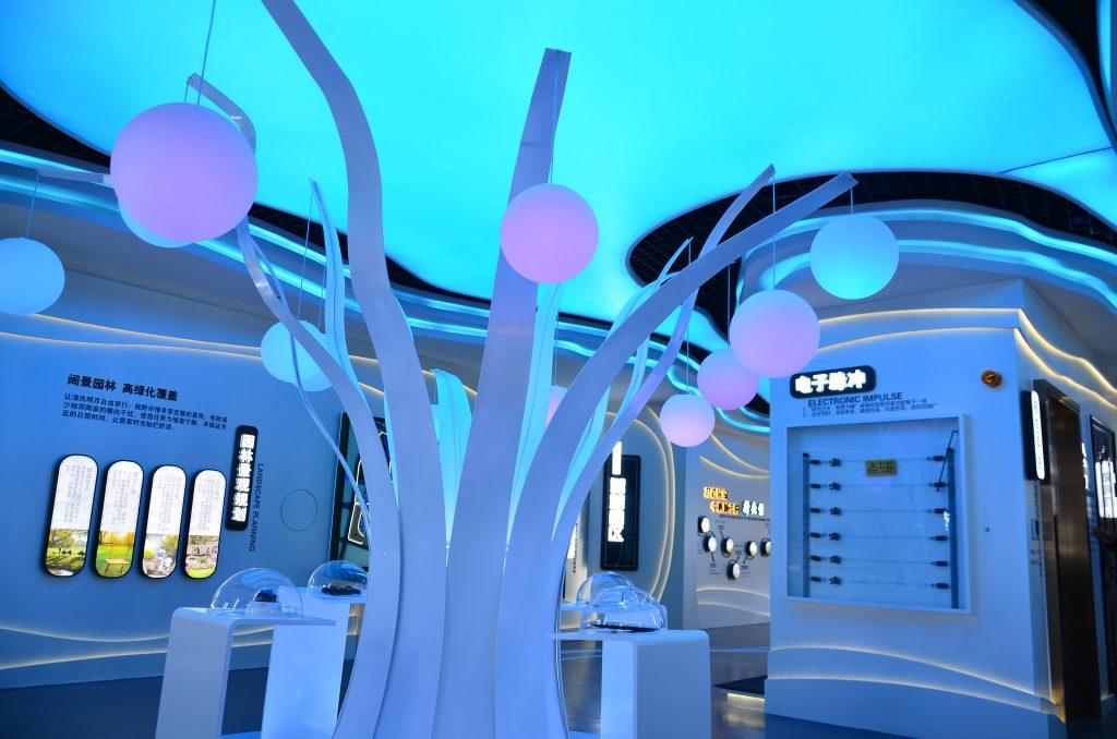 BlueDotCC:沈阳碧桂园公园里建造东北首个4.0体验展示馆-BlueDotCC, 蓝点文化创意