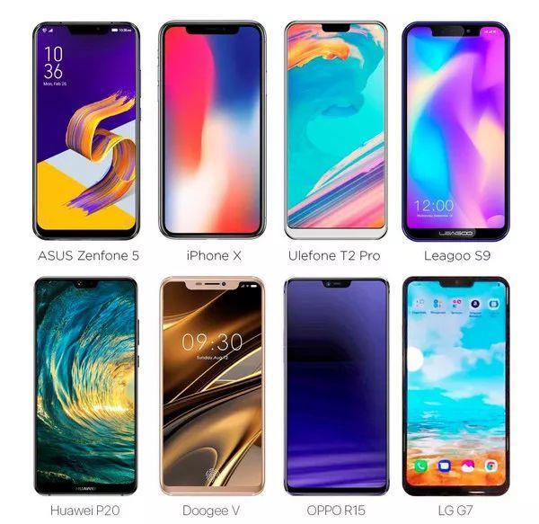 产品:全面屏,大刘海,智能手机的下一步是什么?-BlueDotCC, 蓝点文化创意