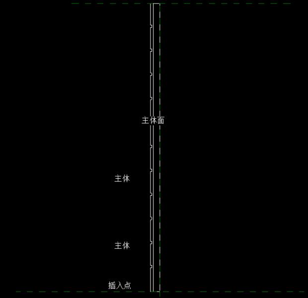 如何快速建异型装饰墙(或踢脚线)