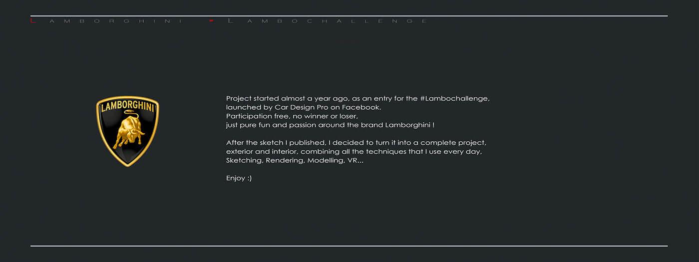 工业设计: 兰博基尼Lamborghini #Lambochallenge FINAL-BlueDotCC, 蓝点文化创意