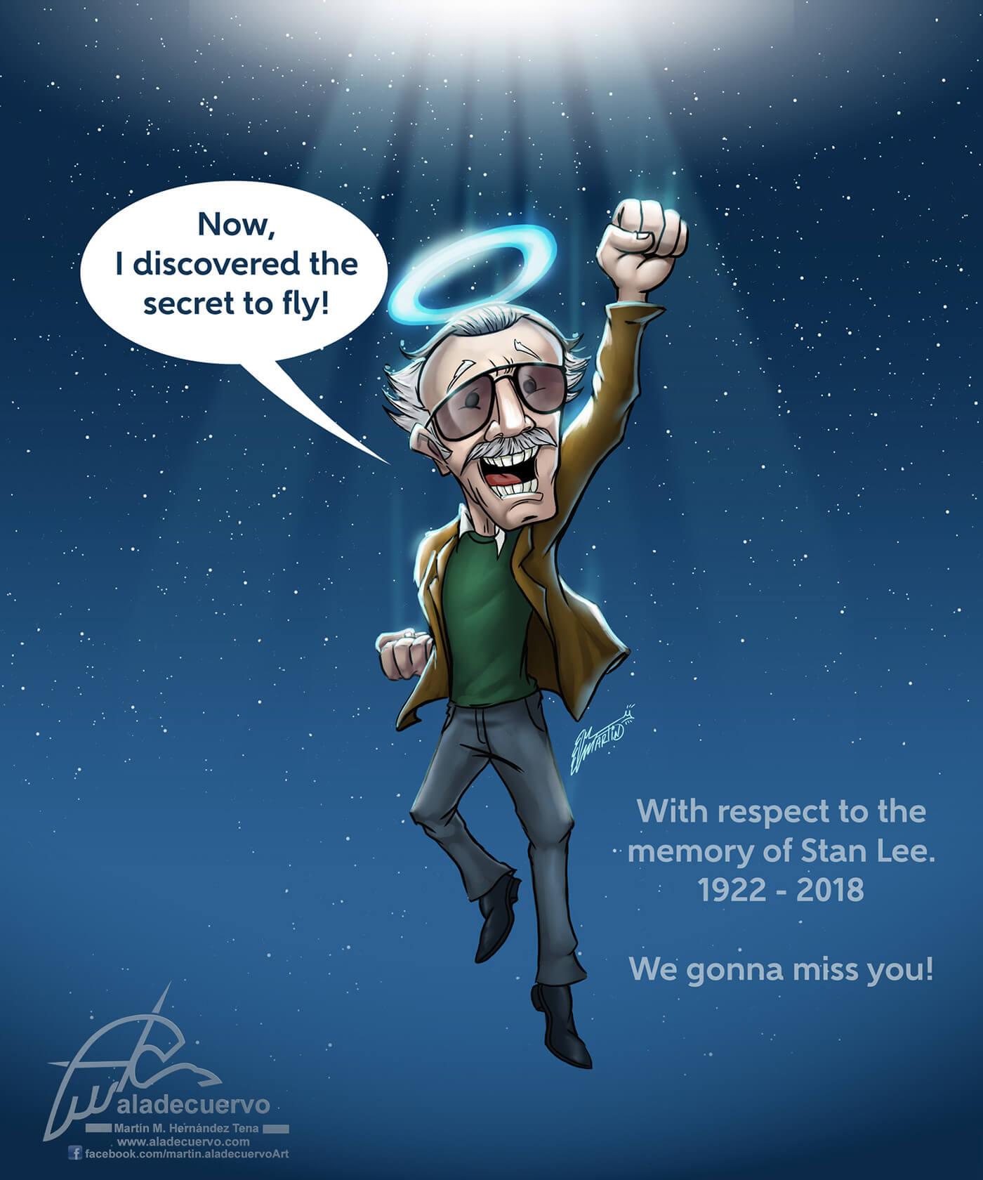 大师:设计界纪念STAN LEE,一个时代的总结,我们想念你。-BlueDotCC, 蓝点文化创意