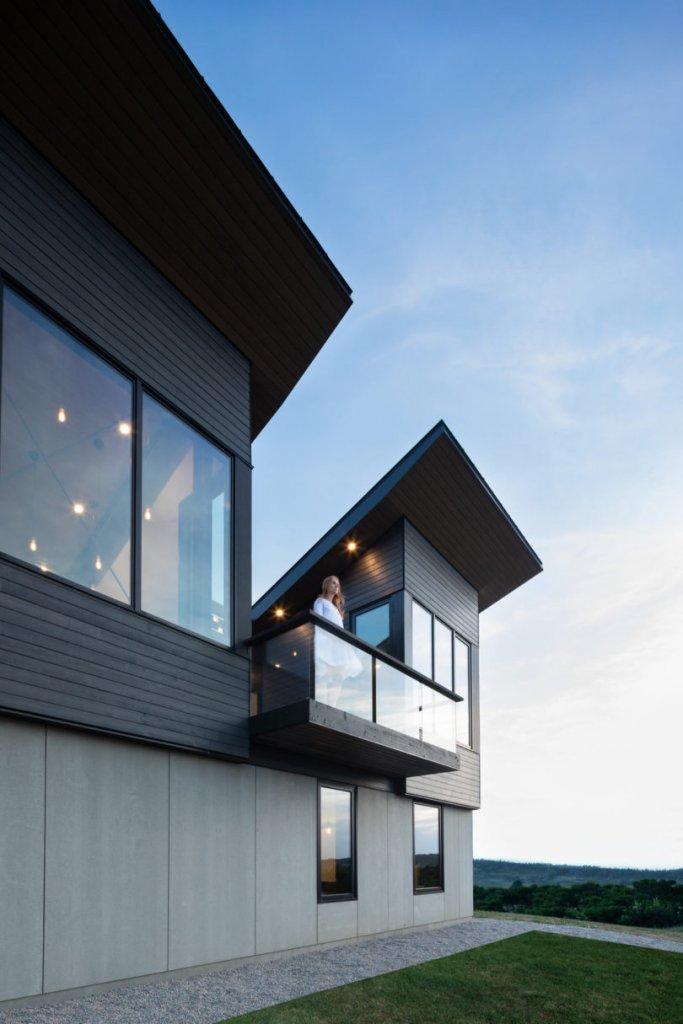 建筑:Treow Brycg-加拿大新斯科舍省南岸的堡垒式住宅-BlueDotCC, 蓝点文化创意