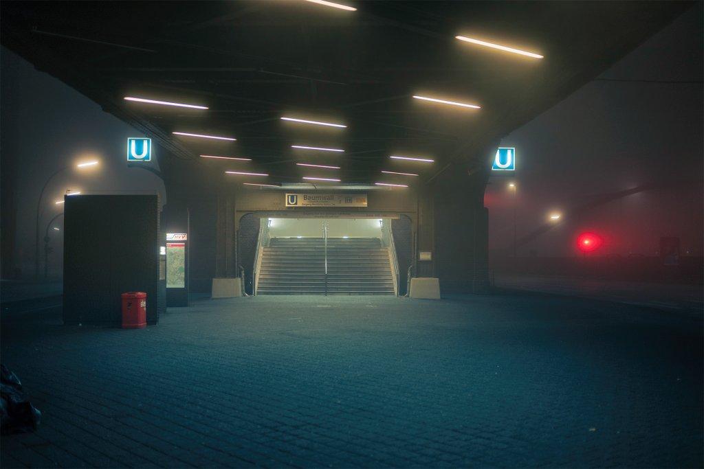 摄影:德国汉堡凌晨四点的雾-BlueDotCC, 蓝点文化创意