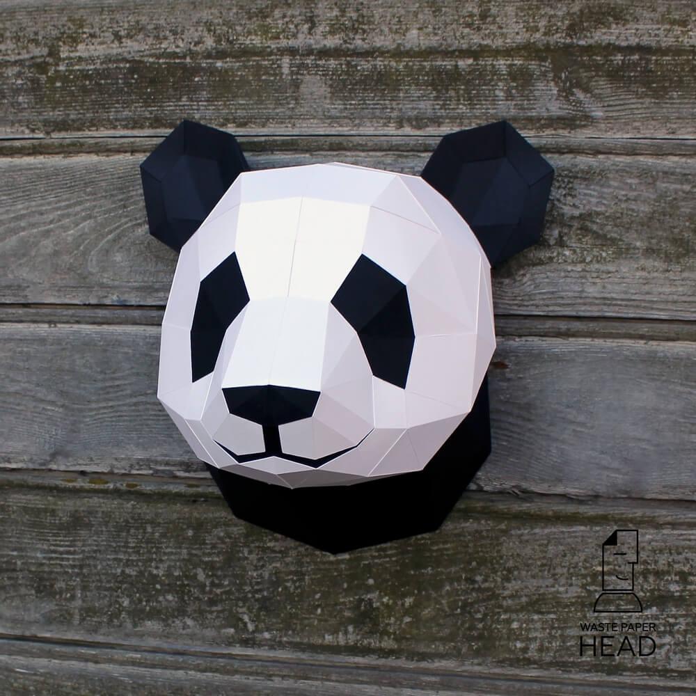 设计:中国国宝熊猫被设计师玩坏了,一千个设计师眼中有一万个panda-BlueDotCC, 蓝点文化创意