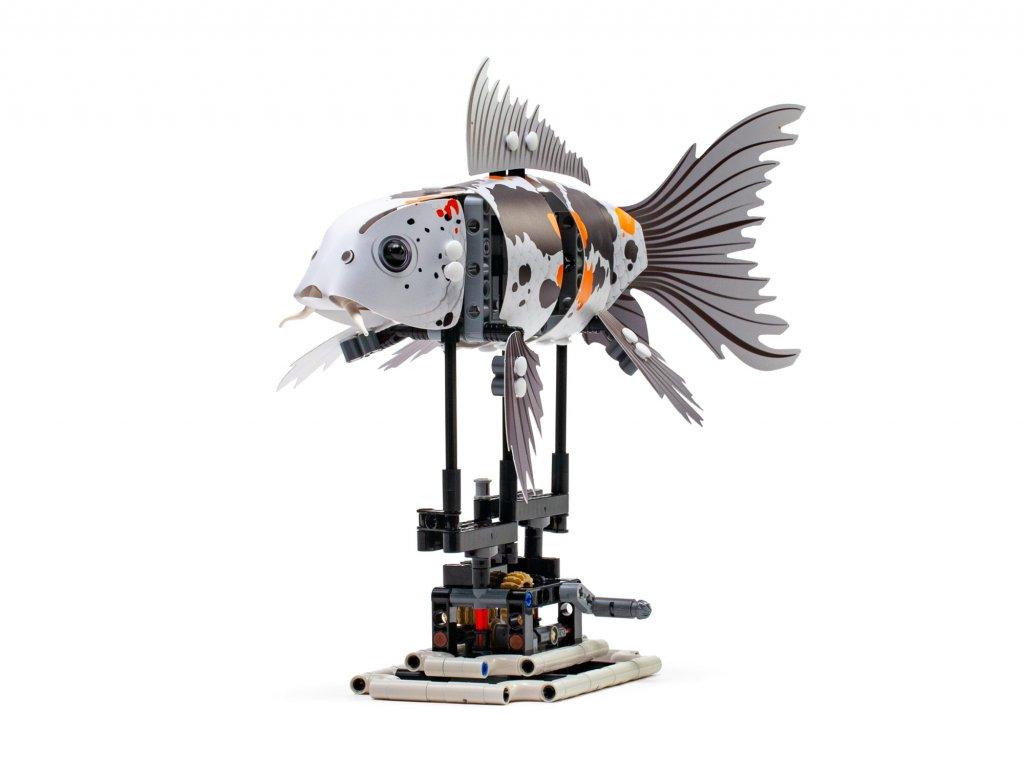 产品:乐高新推的出齿轮锦鲤和齿轮鲨鱼,好玩停不了手-BlueDotCC, 蓝点文化创意
