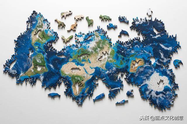打破人们常规想象:没有边界的拼图,无限地球和无限月亮拼图