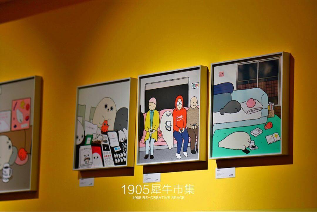 展览活动:1905 ART SPACE|每个人都能在海豹的故事里看到自己-BlueDotCC, 蓝点文化创意