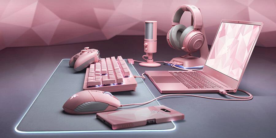 全粉色了!雷蛇全新粉晶版情人节系列产品正式发售-BlueDotCC, 蓝点文化创意