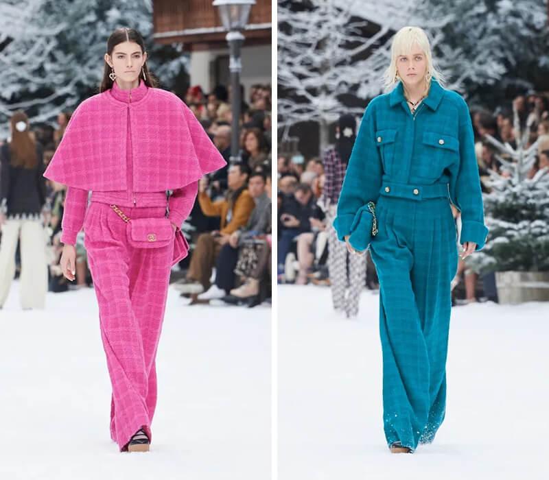 CHANEL 的 2019 秋冬发布会,是在白雪皑皑的山间告别 Karl Lagerfeld