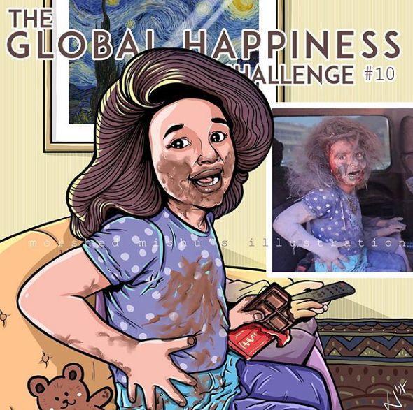 这十张刷屏ins的漫画,给了世界最令人心痛的一击:我只想活着长大,我做错了什么?-BlueDotCC, 蓝点文化创意