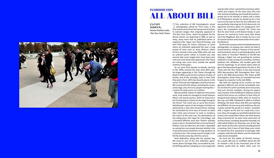 每周一书:纽约时报《Bill Cunningham: On the Street: Five Decades of Iconic Photography》