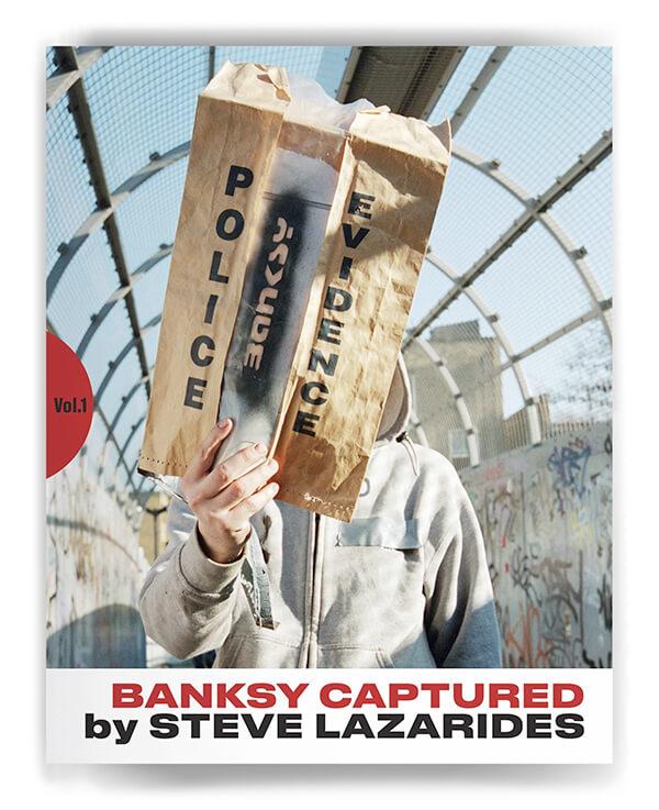 每周一书:Steve Lazarides《Banksy Captured》