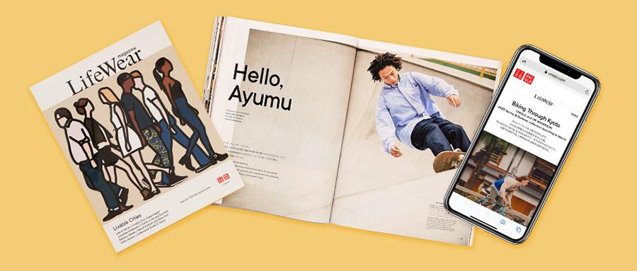 每周一书:优衣库《LifeWear magazine》第二期