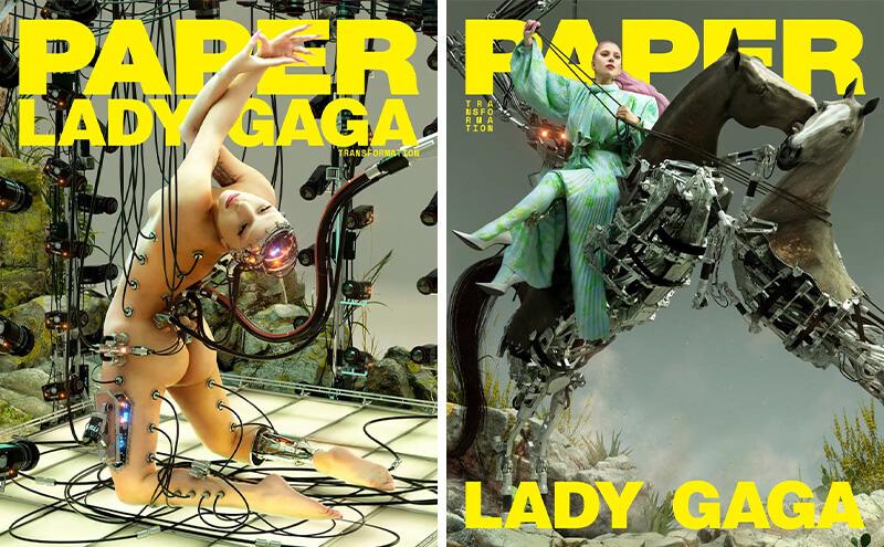 《PAPER》宣布不再推出纸刊,Lady Gaga 封面这一期成为休刊号-BlueDotCC, 蓝点文化创意